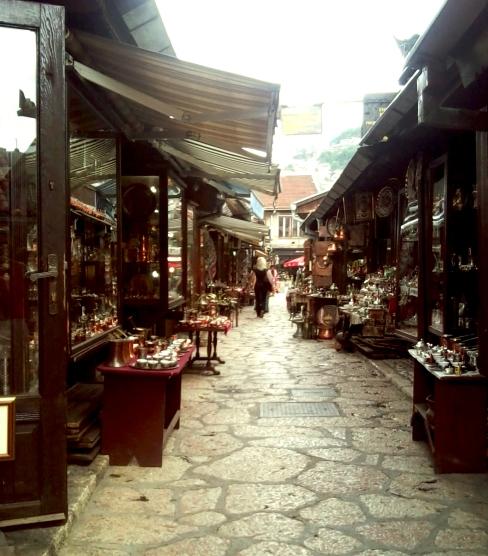 bazaar I, Sarajevo, 2011 © trashbus/Renata Britvec, 2011