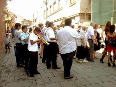 wedding music, Tuzla, 2011 © trashbus/Renata Britvec, 2011