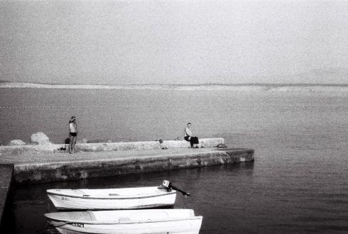 Croatia. Crikvenica. Boats and Men. © trashbus, 2016