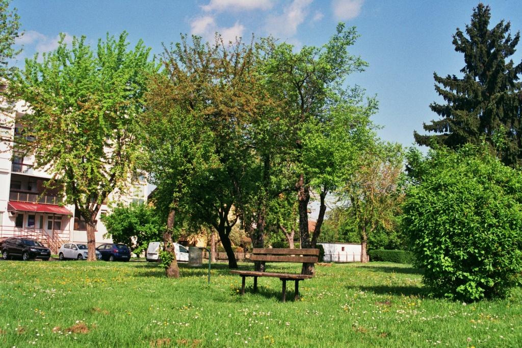 Croatia. Velika Gorica. Bench. © trashbus, 2016