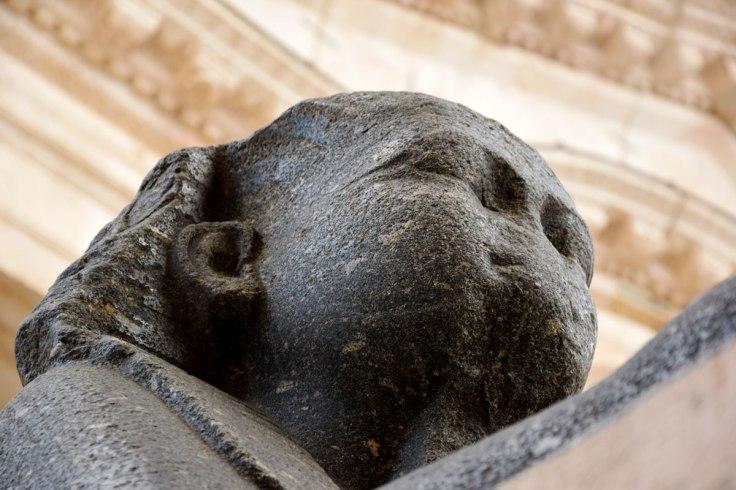 1/12 Sphinx. Peristyle, Diocletian's Palaca. Split, Croatia. © trashbus / Renata Britvec, 2017