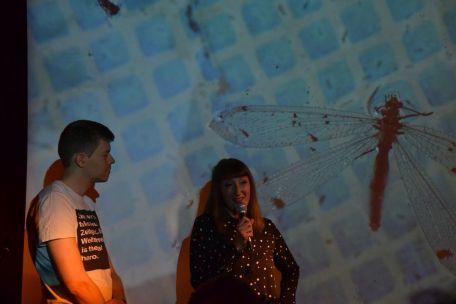 "Trashbus ǀ Renata Britvec: ""Summer is a Ghost from the Past"". Opening Sept 28th, 2018 @ Sputnik Kino Berlin. Foto: Jürgen Fehrmann"