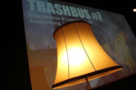 """Trashbus ǀ Renata Britvec: """"Short Hellos & Long Goodbyes"""". Opening Sept 27th, 2019 @ Sputnik Kino Berlin. Foto: Jürgen Fehrmann"""