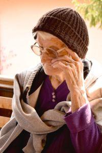 Grandma. Fall. Short Hellos & Long Goodbyes. LipnicaTuzla, BiH. 2017 © Trashbus ǀ Renata Britvec