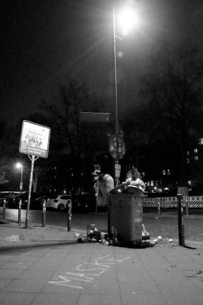 Enlightened Trash. Ghost Night. Berlin, 2020. © Trashbus ǀ Renata Britvec