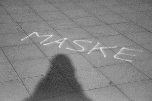 Mask. Ghost Night. Berlin, 2020. © Trashbus ǀ Renata Britvec