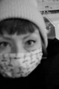 Self Portrait. Ghost Night. Berlin, 2020. © Trashbus ǀ Renata Britvec