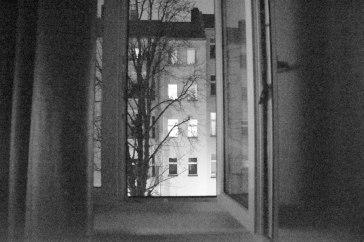 Window. Ghost Night. Berlin, 2020. © Trashbus ǀ Renata Britvec